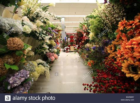 Flowers For Sale by Silk Flowers For Sale At Michael S Store Stock Photo