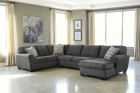 manhattan laf sofa sectional sorenton laf sofa and chaise sectional in slate