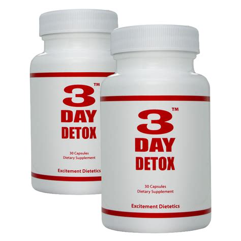 Detox Pill Packs by 3 Day Detox 2pack Three Day Diet A Three Day Diet Plan To
