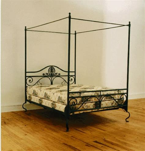 wrot iron bed hand forged wrought iron beds by coble metal design