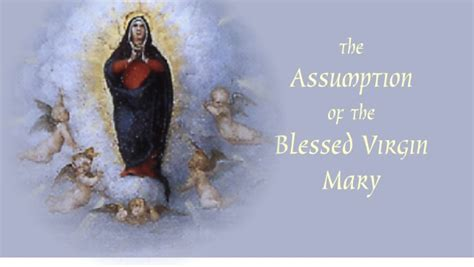 Feast Of The Assumption Of Quotes