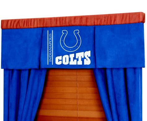 colts curtains indianapolis colts nfl football valance