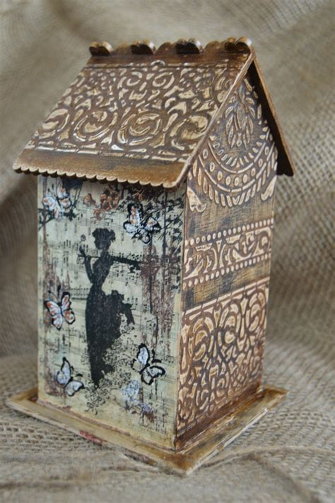Things To Decoupage - decoupage things on handmade home decor