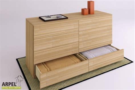 Commode Zen by Kommode Zen Maxi 160 Aus 26 Mm Starker Lamellierter Buche