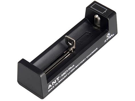 Xtar Ant Mc1 Plus Portable Micro Usb Battery Charger 1 Slot For Li Ion xtar ant mc1 plus portable li ion battery charger 2016 version
