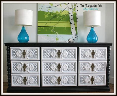 the turquoise iris furniture art color inspiration the turquoise iris furniture art vintage glossy
