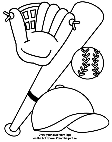 Coloring Pages Of Baseball Free Baseball Coloring Pages Coloring Home by Coloring Pages Of Baseball