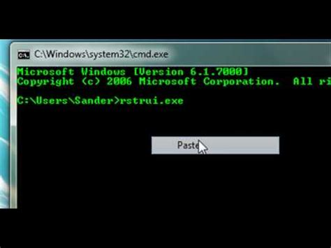 reset bios using cmd how to restore your computer with command prompt youtube