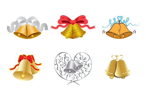 Wedding Bell Vector Free by Free Wedding Bells Vector Free Vector