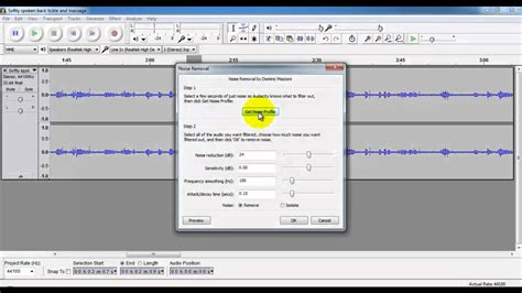 tutorial youtube audacity 8 asmr tutorial background noise removal with audacity