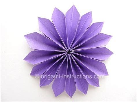 折纸花大全图解之简单折纸花组合折纸图解教程 纸艺网