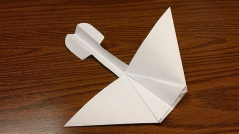 How To Make Glider Paper Airplane - paper airplane glider from gra d