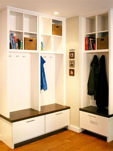 entryway storage ideas 10 things you never knew you needed in your mudroom hgtv