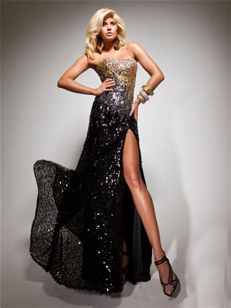 black and gold beaded dress sheath sweetheart black gold sequined beaded evening