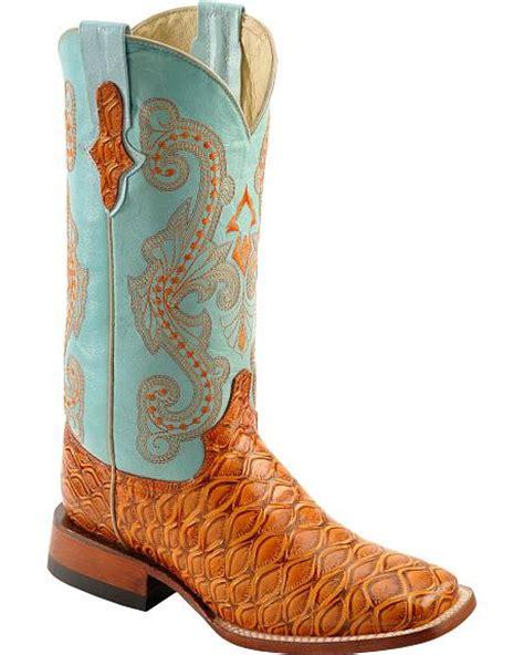 anteater boots ferrini cognac anteater print boots wide square