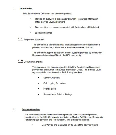 it support contract template it support contract template 9 documents in