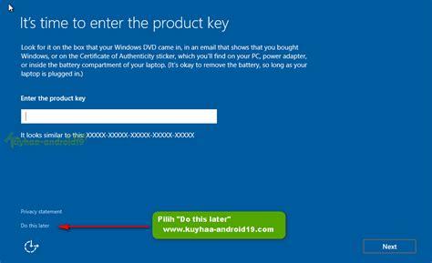 tutorial install windows 10 lengkap cara install windows 10 lengkap kuyhaa me