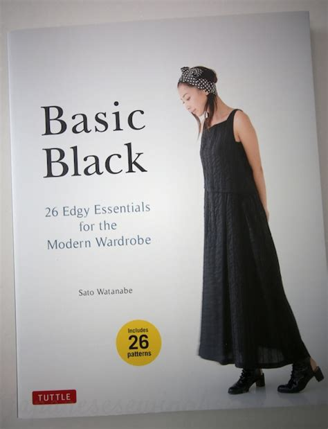 japanese pattern books in english book sneak preview basic black japanese sewing
