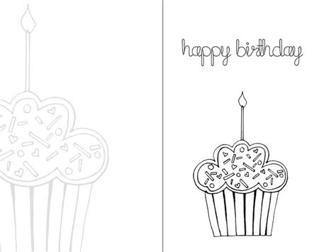 printable birthday cards black and white birthday card popular images print happy birthday card