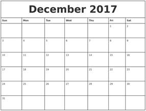 Calendar 2018 Maker Calendar For December 2018 And January 2018 Printable