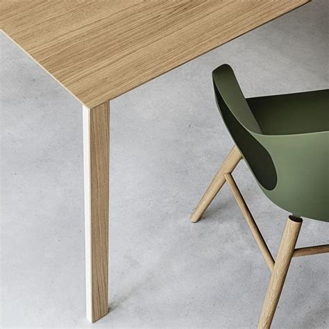 Thin L Table Thin K Table By Kristalia Innerspace