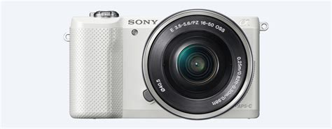 small with interchangeable lenses mirrorless small hd digital sony a5000