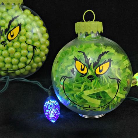 diy clear glass ball christmas ornaments  guide