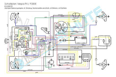 100 wiring diagram vespa px vespa wiring schematics
