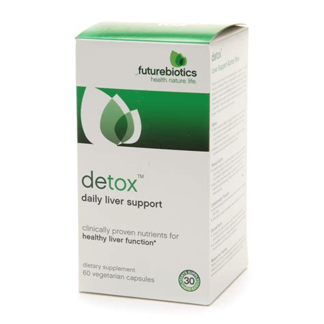 Liver Detox Walgreens by Futurebiotics Detox Daily Liver Support Vegetarian