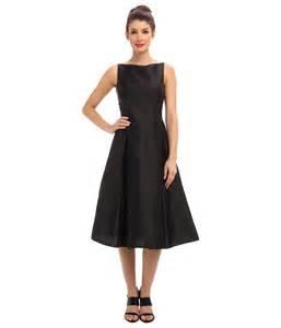 adrianna papell sleeveless tea length dress zappos com