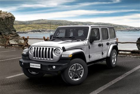 jeep wrangler  couleurs colors