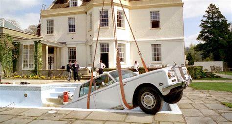Rolls Royce In Swimming Pool Frivolous How Oasis Sank A Rolls Royce Classic