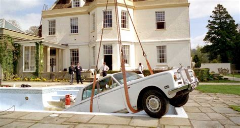 Rolls Royce Swimming Pool Frivolous How Oasis Sank A Rolls Royce Classic