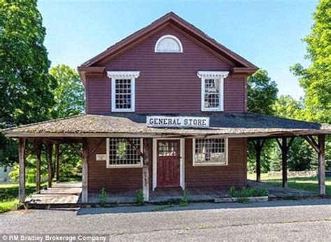 Lake Mills Post Office by Church Buys Entire Connecticut Ghost Town