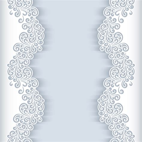 How To Make Lace Paper - paper lace frame vector background 04 ramki