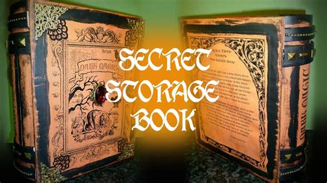 lanta s magic spells books secret storage book magic book of spells woc