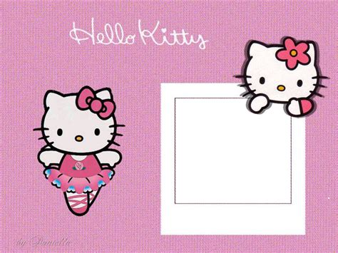 imagenes de kitty baby marcos para fotos de hello kitty gratis imagui