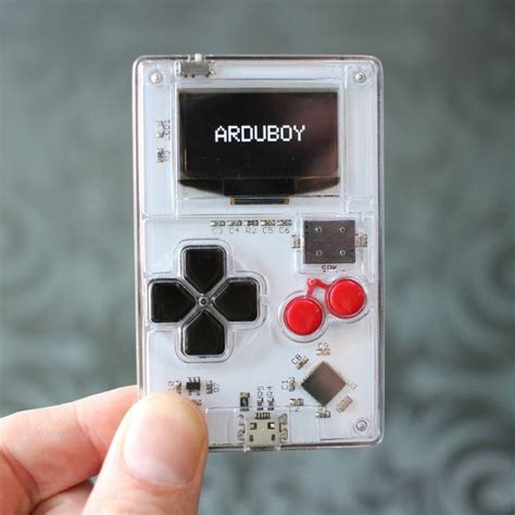 arduino console arduino is tiny retro console