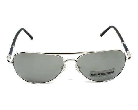 Montblanc Mb07 Silver Black mont blanc sunglasses mb 509 s 16c silver visionet