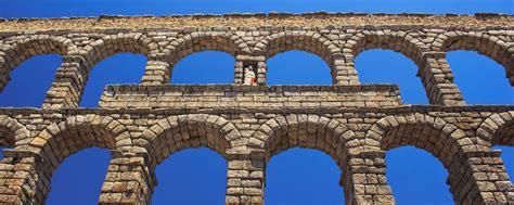 Aqueduc romain de Ségovie Castille et Leon Espagne