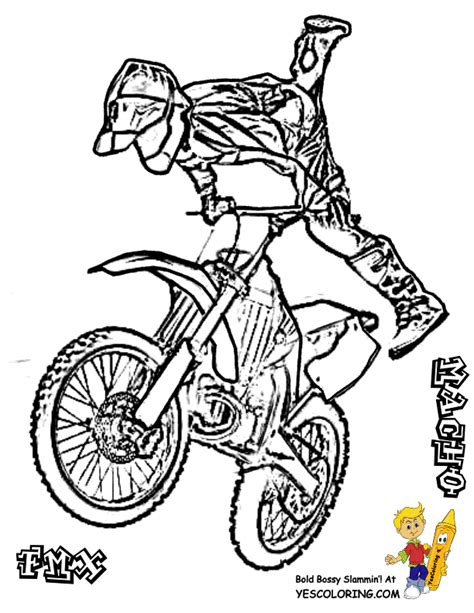 card dirt bike coloring templates rider dirt bike coloring pages dirtbike free