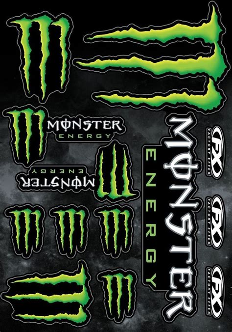 Monster Aufkleber by 78 Best Images About Monster Energy Stickers On Pinterest