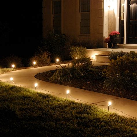 lumabase pathway clear string lights set of 10 61010