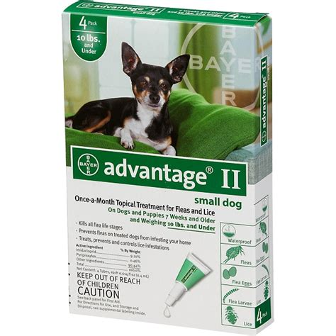 advantage ii for dogs flea treatment for dogs
