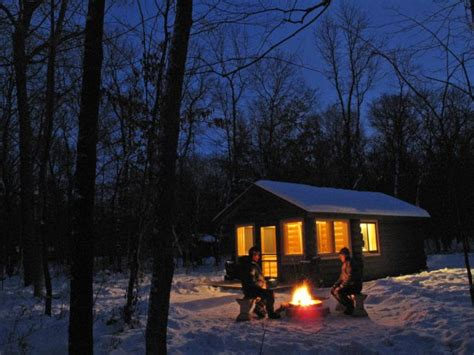 at home in minnesota state park cer cabins