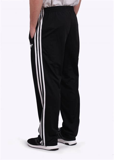 adidas firebird track pants adidas originals adi firebird track pants black white