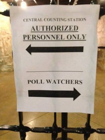 It Bag Watcher Vote In The Poll by Glitches And Voting Machine Irregularities As Poll