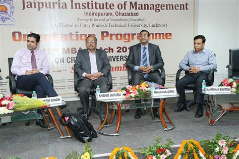 Event Management Mba Usa by Orientation Programme Jaipuria Institute Of Management