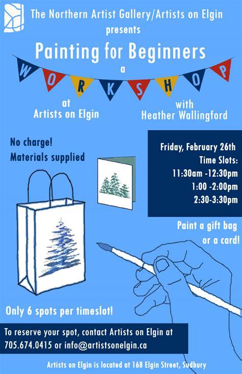 Olg Slots Gift Cards - painting workshops at artists on elgin
