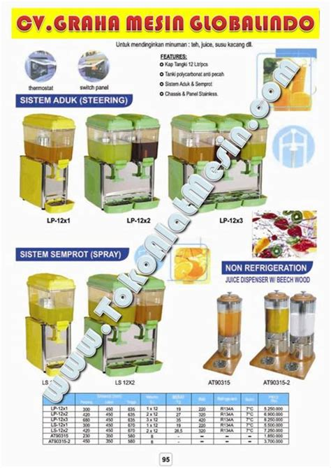 Dispenser Juice Murah juice dispenser harga images